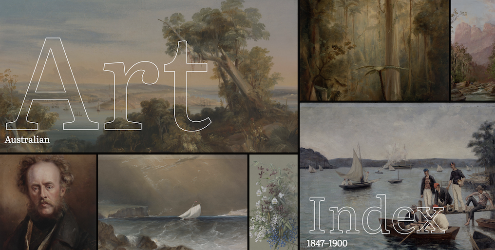 Homepage for Art Index